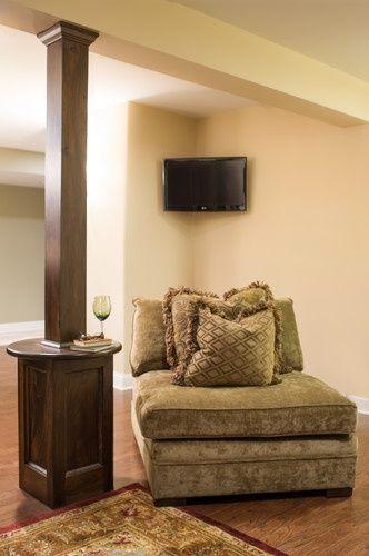 useful basement columns ideas basement house basement rh pinterest com