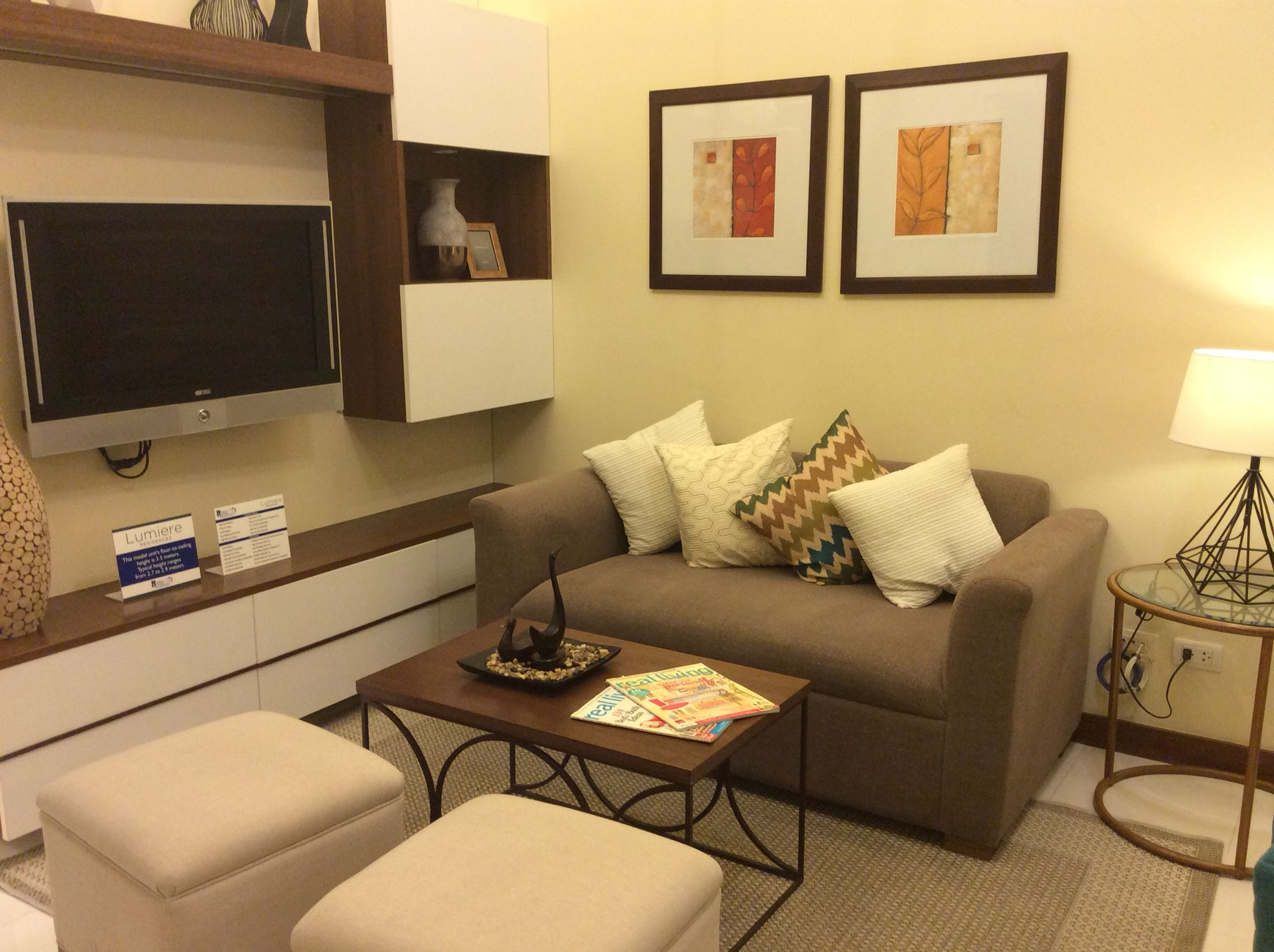 Cozy Living Room Dmci 2br Resort Inspired Condo Project For More