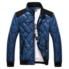 Fashion Homme Jacket Col Blouson Matelasse Classe A Veste Mandarin RwHq7A