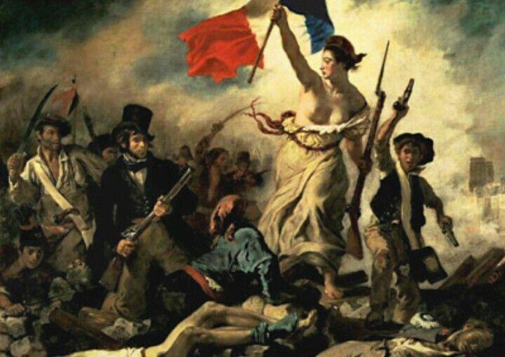 Vive La France Delacroix Paintings Liberty Leading The People Eugene Delacroix