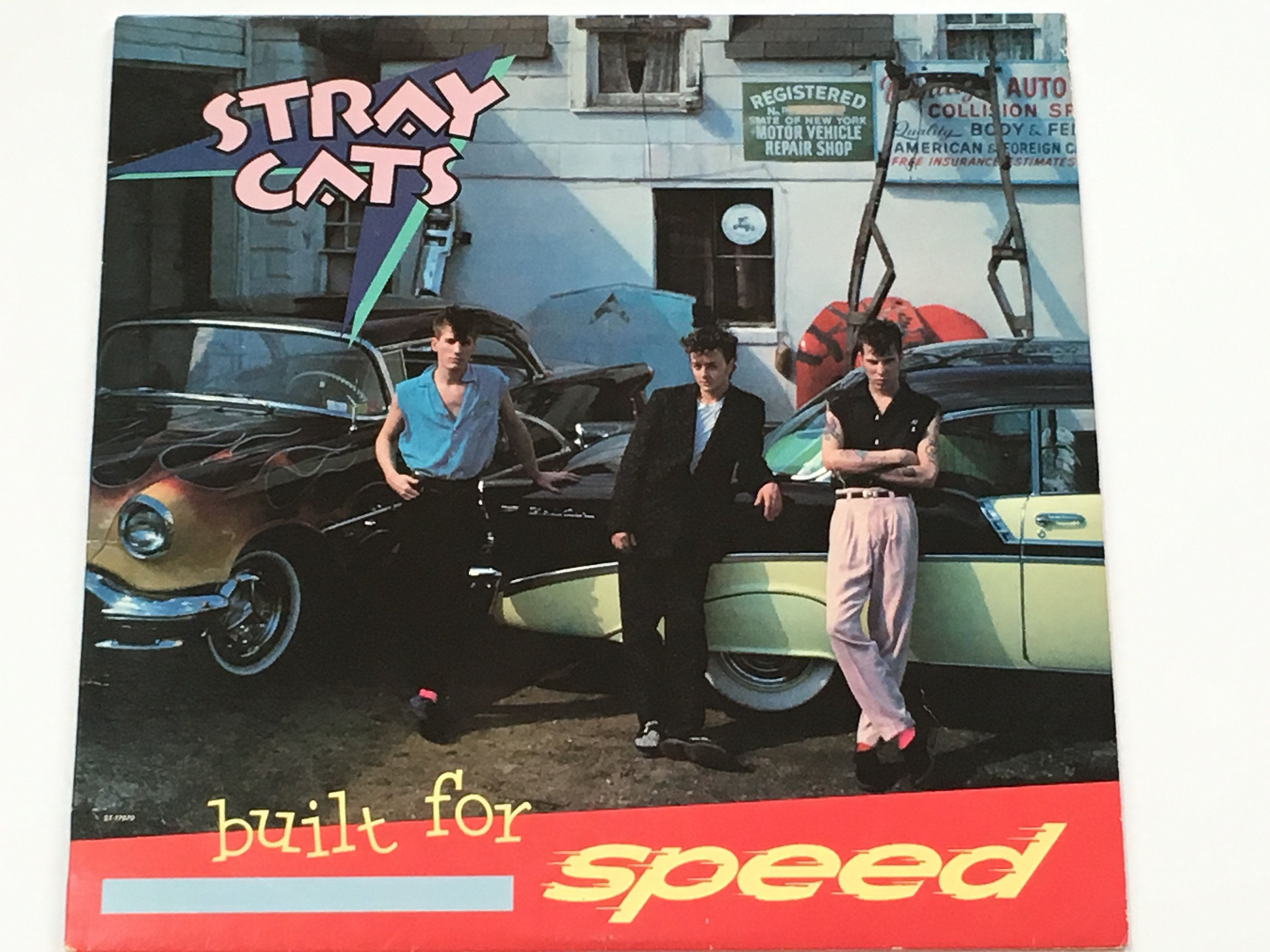 """Stray Cats Built For Speed Rockabilly """"Rock This"""