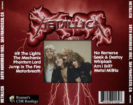 No 4 Horsemen ~ Mustaine Wrote The Mechanix!