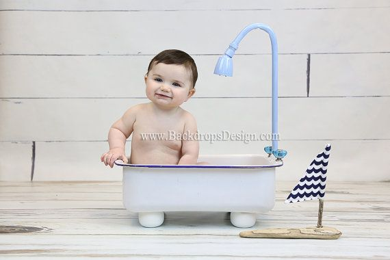 Baby Photography prop Bathtub newborn todlers by BackdropsDesign ...