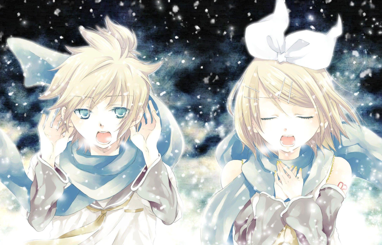 Rin And Len Kagamine Wallpaper Vocaloid Kagamine Rin