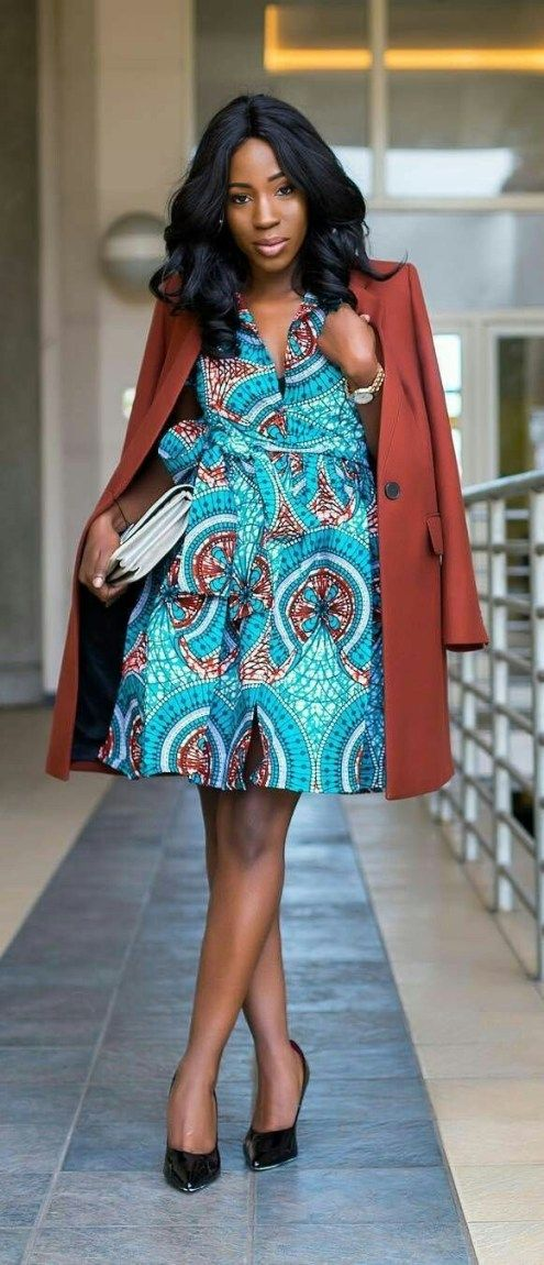 20 jolies modèles de robes en pagne #afrikanischerdruck
