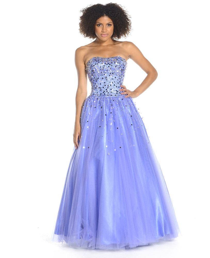 periwinkle prom dresses | Bridesmaid Dress Ideas | Pinterest ...