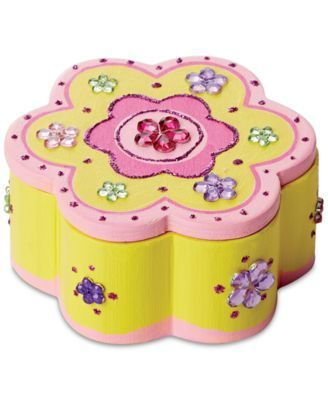 Melissa and Doug Melissa & Doug Decorate-Your-Own Wooden Flower Chest & Reviews - Macy's #woodenflowerboxes