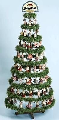 Jim Shore Floor Standing Display Christmas Ornament Tree 79 Of 351 Ornament Tree Display Tree Ornaments Christmas