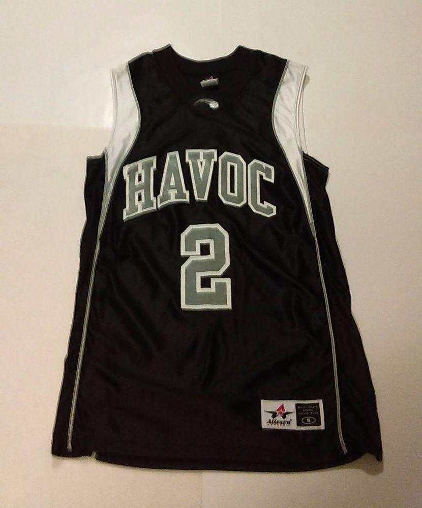 Alleson Athletic - Men's Small Havoc Silver & Black Basketball Jersey #2 NWOT #AllesonAthletic #Jerseys