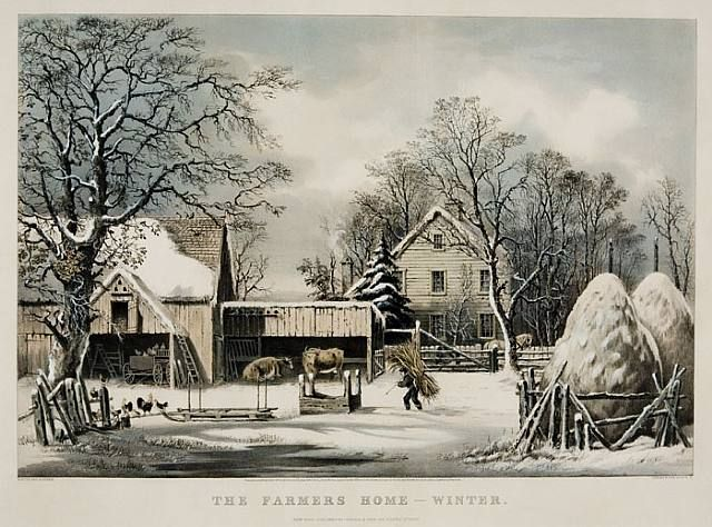 George Henry Durrie   The Farmers Home   Winter   Art   Pinterest   Home   The o jays and The farmer. George Henry Durrie   The Farmers Home   Winter   Art   Pinterest