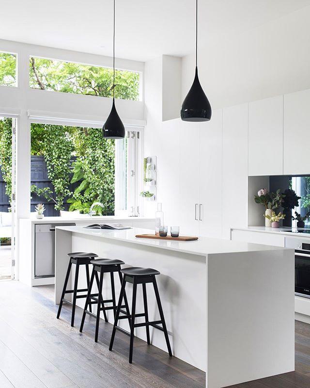 Instagram Photo By Scandinavian Colour Design Jul 9 2016 At 9 41am Utc White Kitchen Design Interior Design Kitchen Kitchen Interior