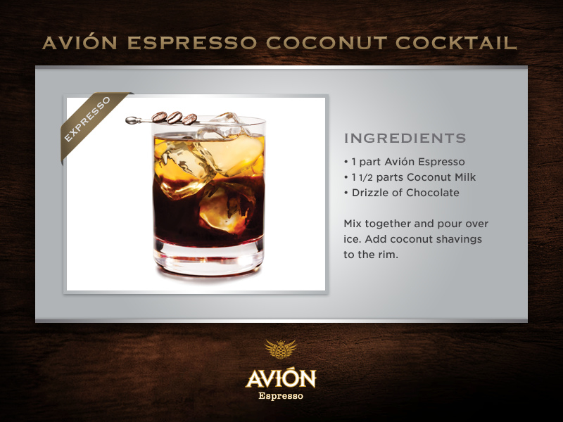 Espresso and Coconut meet the World\'s Best, all with a twist ...