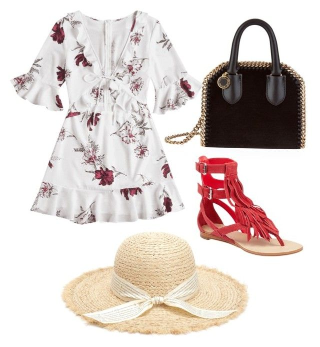 """""""24.08.2018"""" by ornie-21 on Polyvore featuring mode, STELLA McCARTNEY et GUESS"""