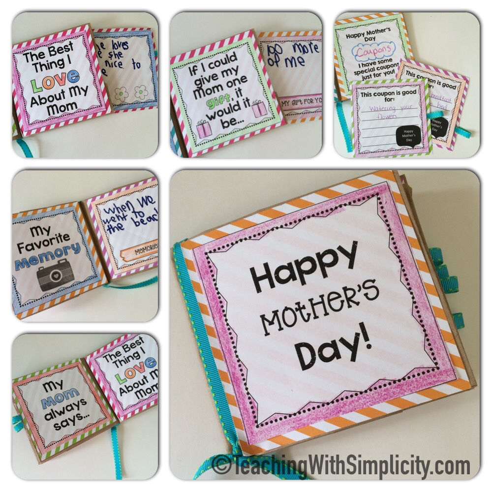 Mother's Day: Paper Bag Book | Paper bag books, Brown ...