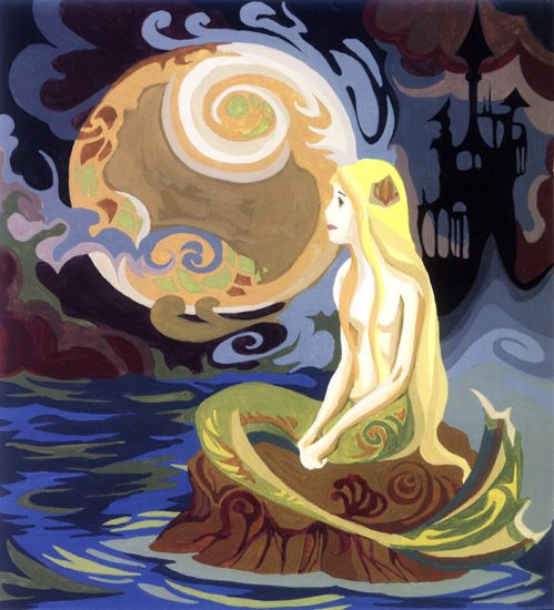 Mermaid 01 by MoonyKhoa Le