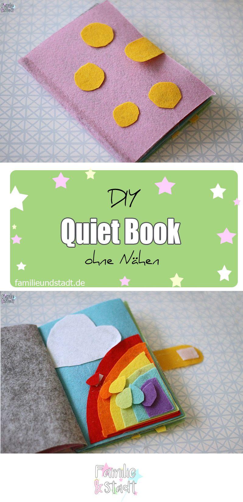 Quiet Book selber machen ohne Nähen mit Video Anleitung ...