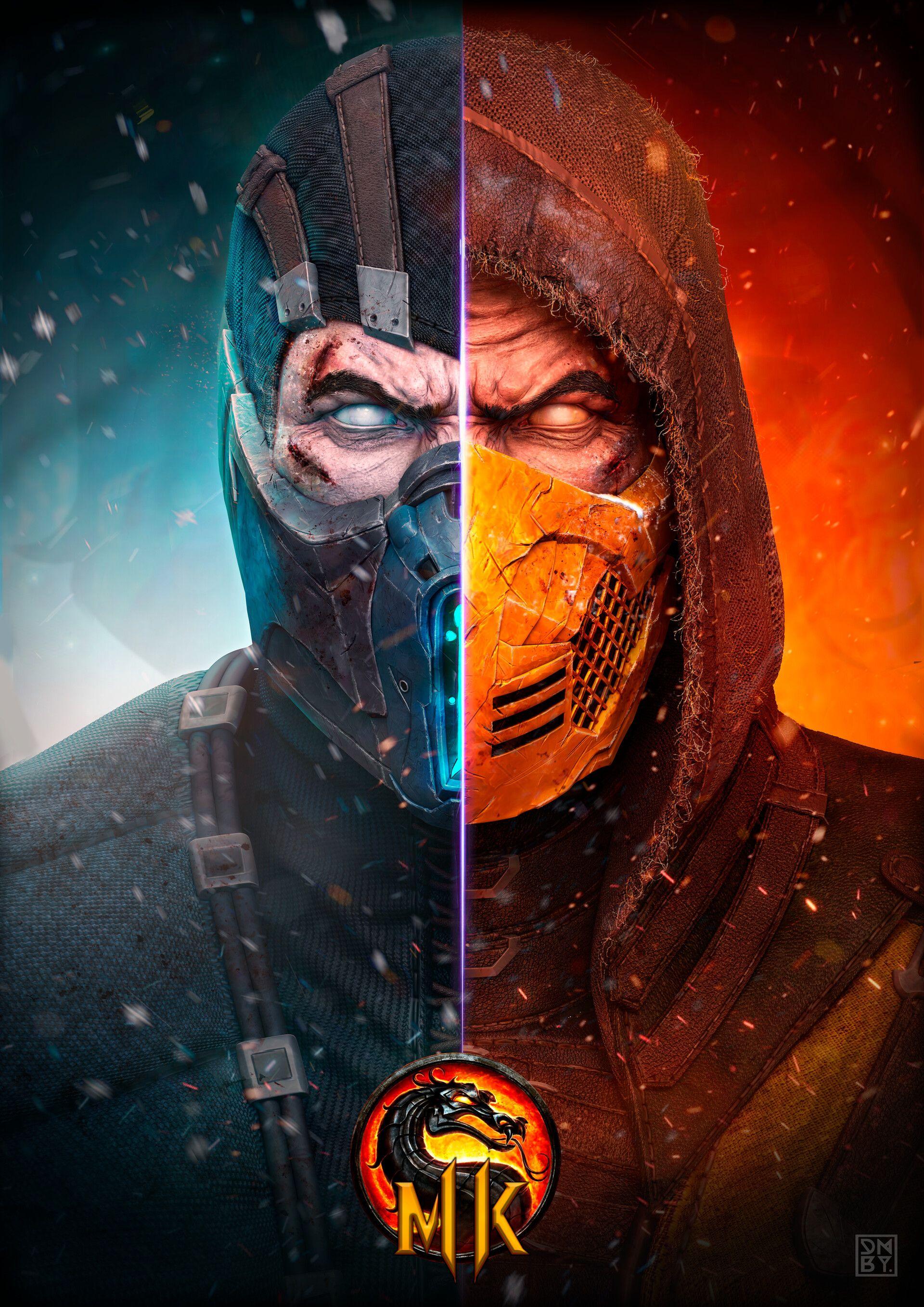 Mortal Kombat Movie 2021 Poster / Mortal Kombat Watch ...
