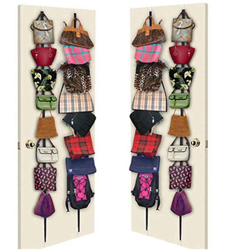 Bag Rack Door Hanging Ideas For The House Handbag Storage