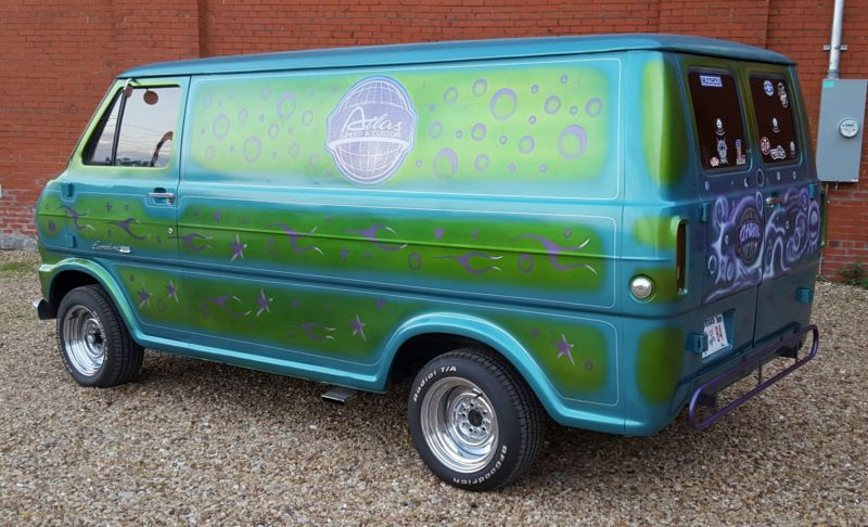 1969 Ford E Series Van E100 Econoline Custom Vans Vans Old