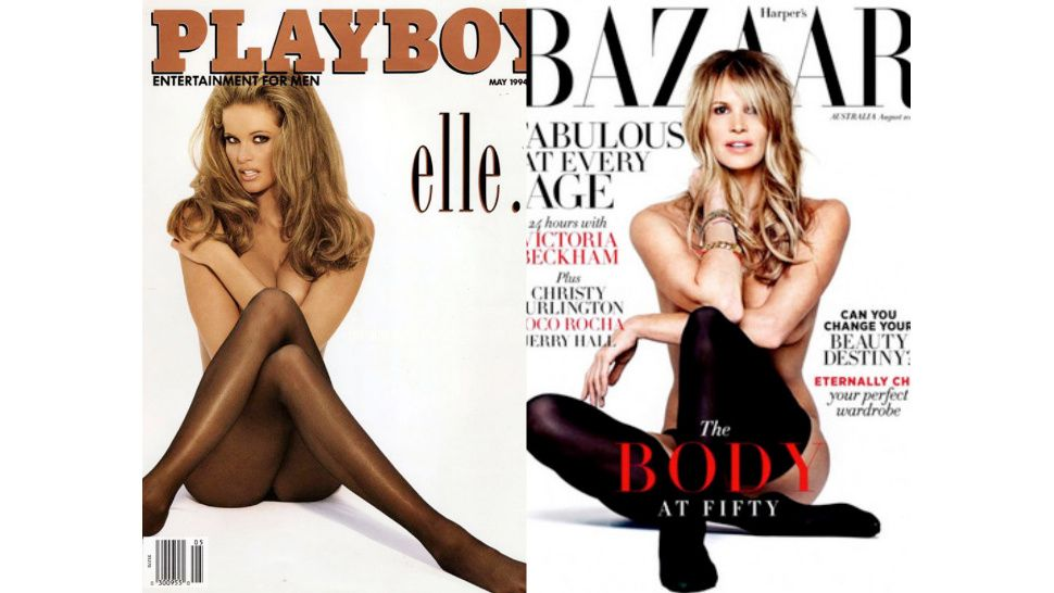Elle MacPherson Recreates Her Iconic '90s Playboy Cover