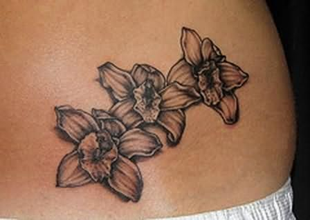 Black Orchid Orchid Tattoo Orchid Tattoo Meaning Orchid Flower Tattoos