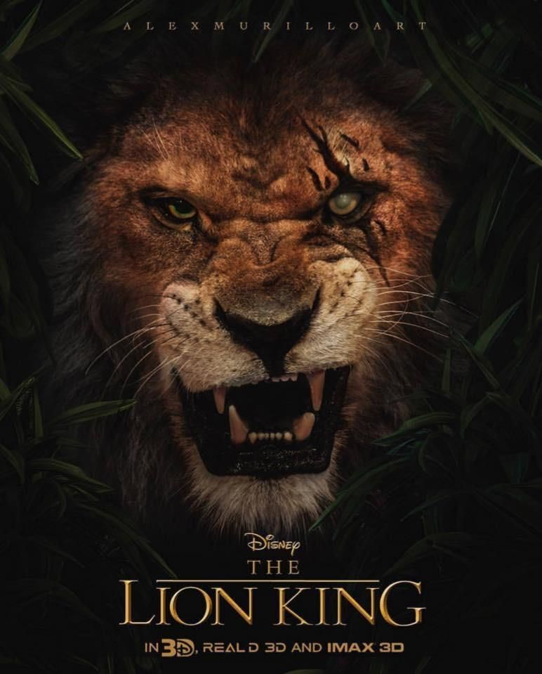 A Live Action Version Of The Lion King Will Be Released Next Year Lion King Movie Lion King Poster Scar Lion King