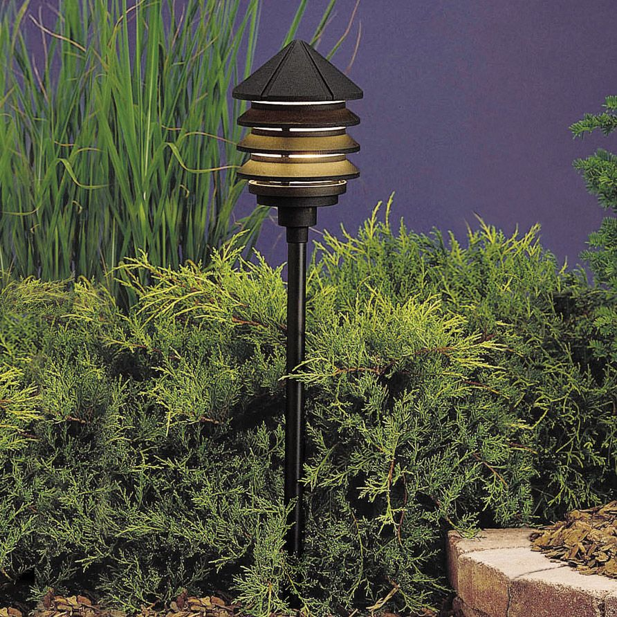 120v Outdoor Landscape Lighting With Images Outdoor Path Lighting Outdoor Lighting Landscape Kichler Lighting