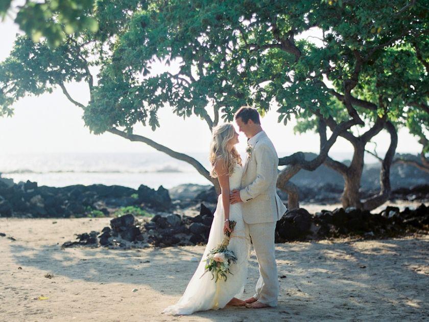 Vintage Beach Wedding Ceremony: Vintage & Lace Intimate Beach Weddings