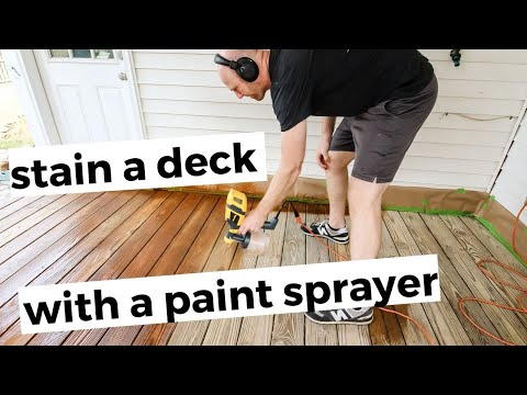 Summer Is The Perfect Time To Enjoy A Deck In Your Yard So Spring Is The Best Time To Get Your Deck In Shape If It Is Lookin In 2020 Staining