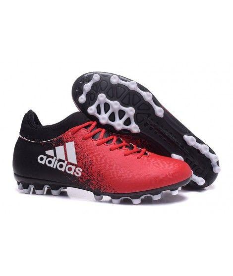 adidas x 16.3 ag umĚlou trÁvu kopačky Červená Černá bílá