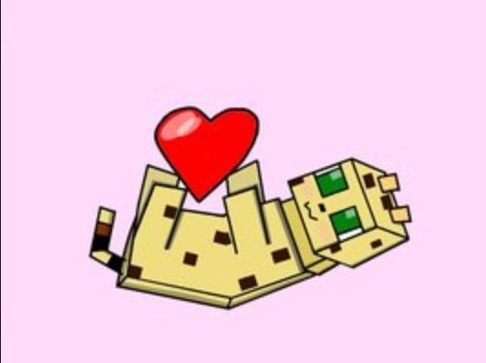 Ocelot Minecraft Cat Minecraft Drawings Minecraft Anime