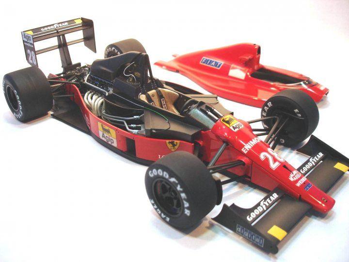 Building / Improving the Ferrari F189 (640) Tamiya 1/20 scale   f1
