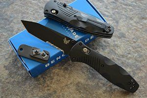 Amazon com : Benchmade 583SBK Barrage Assisted Opening Knife