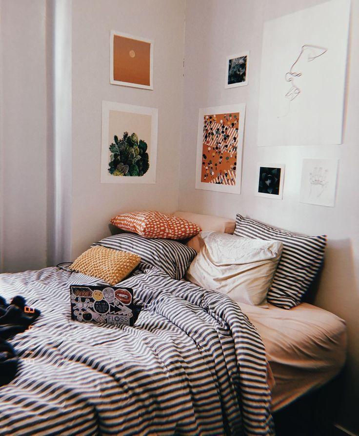 Love This Room インテリアデザイン ベッドルームのアイデア インテリア グレー ピンク