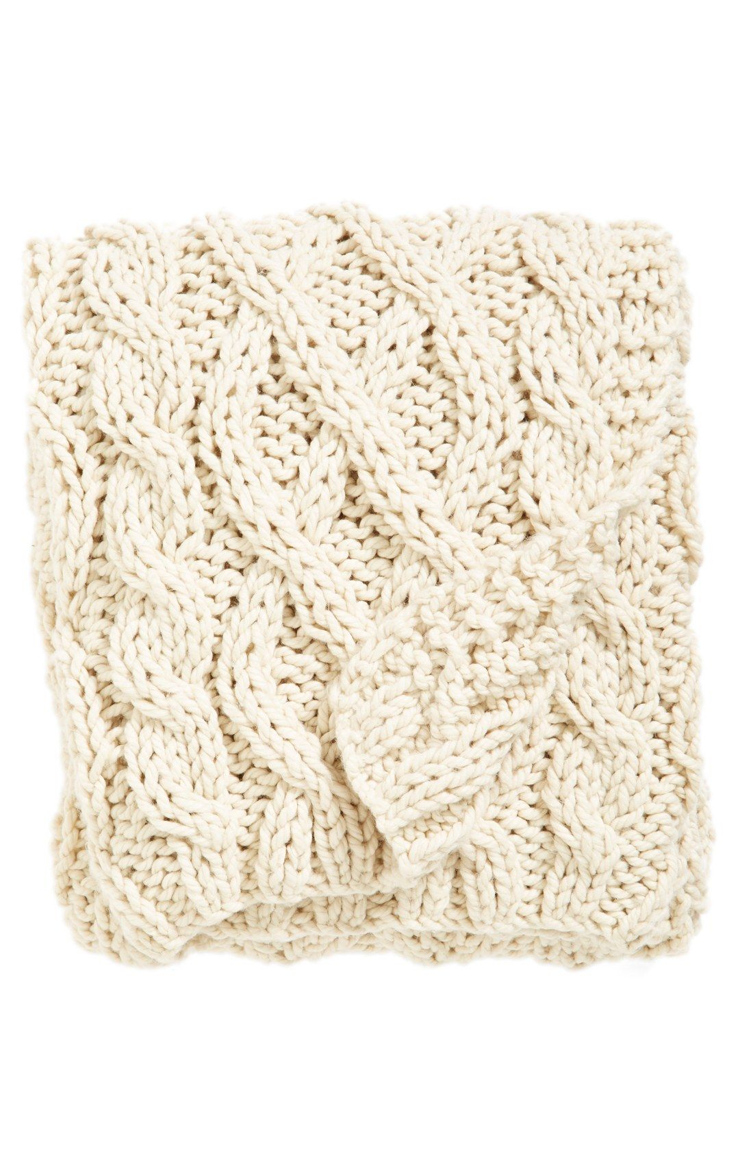 Nordstrom at Home Hand Knit Cable Throw   Christmas list   Pinterest