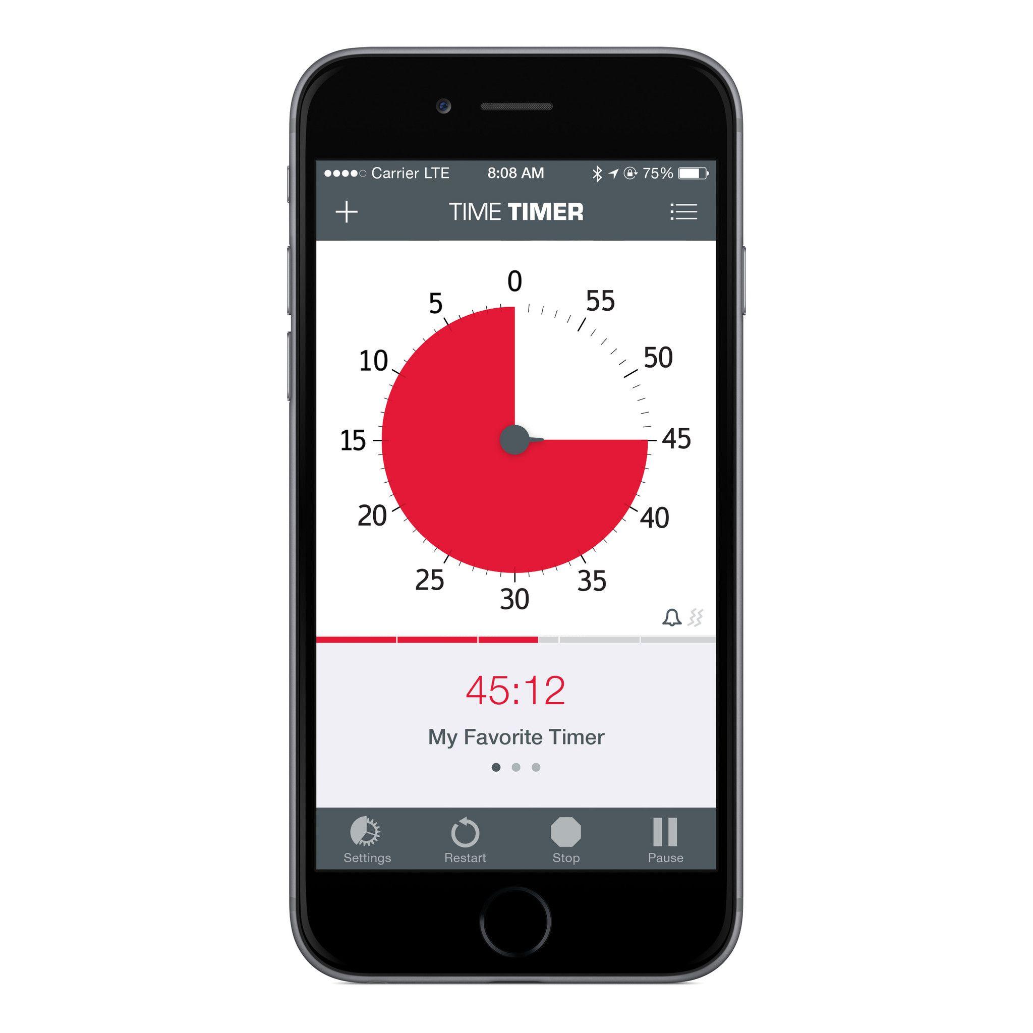 Time Timer® iPhone App Time timer, Classroom timer, Timer