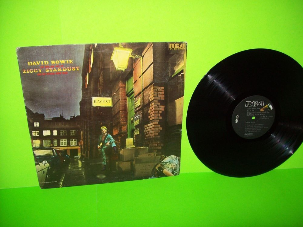 David Bowie The Rise And Fall Of Ziggy Stardust And The Spiders From Mars Lp Classicrockglamart David Bowie Ziggy Ziggy Stardust David Bowie Ziggy Stardust