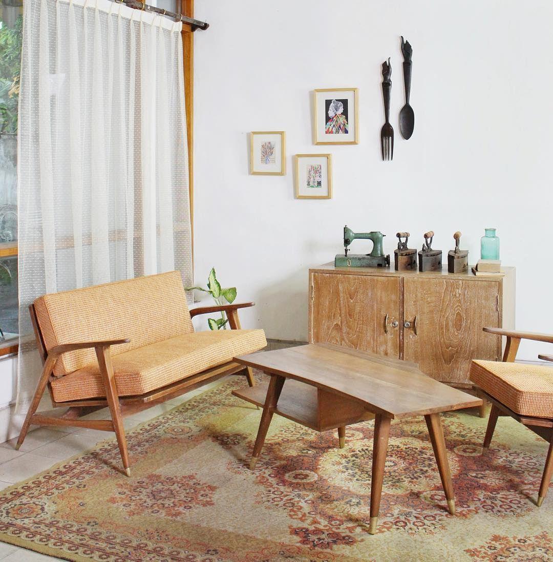 Ruang Tamu Minimalis Klasik Desain Furnitur Kamar Dekor