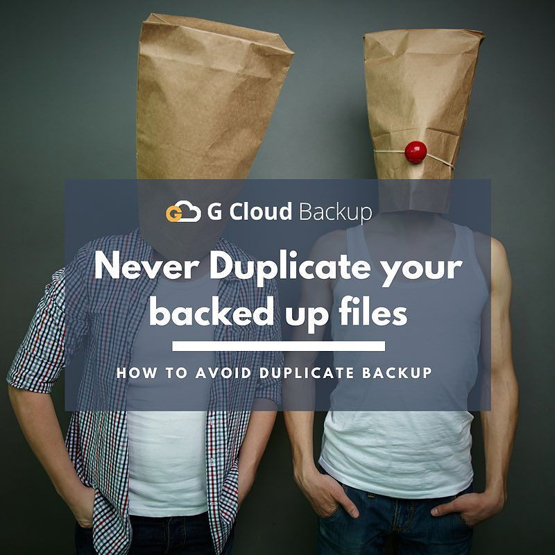 Moved files from internal memory to external SD card and G Cloud backed up them again creating duplicates? ow.ly/cTQ5305JnuC