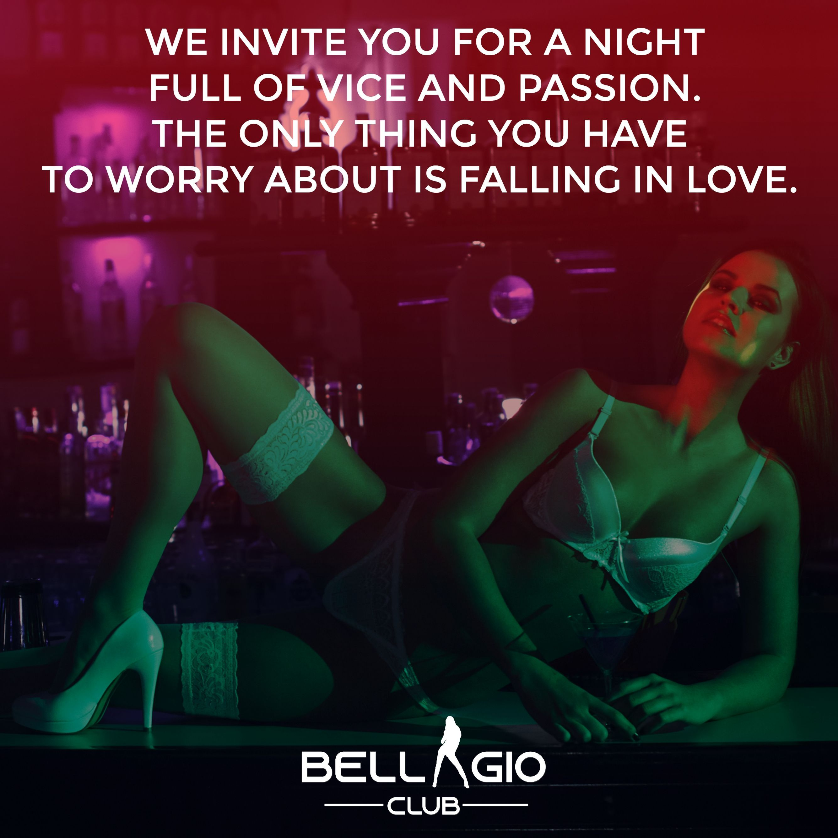 We Invite You For A Night Full Of Vice And Passion The Only Thing