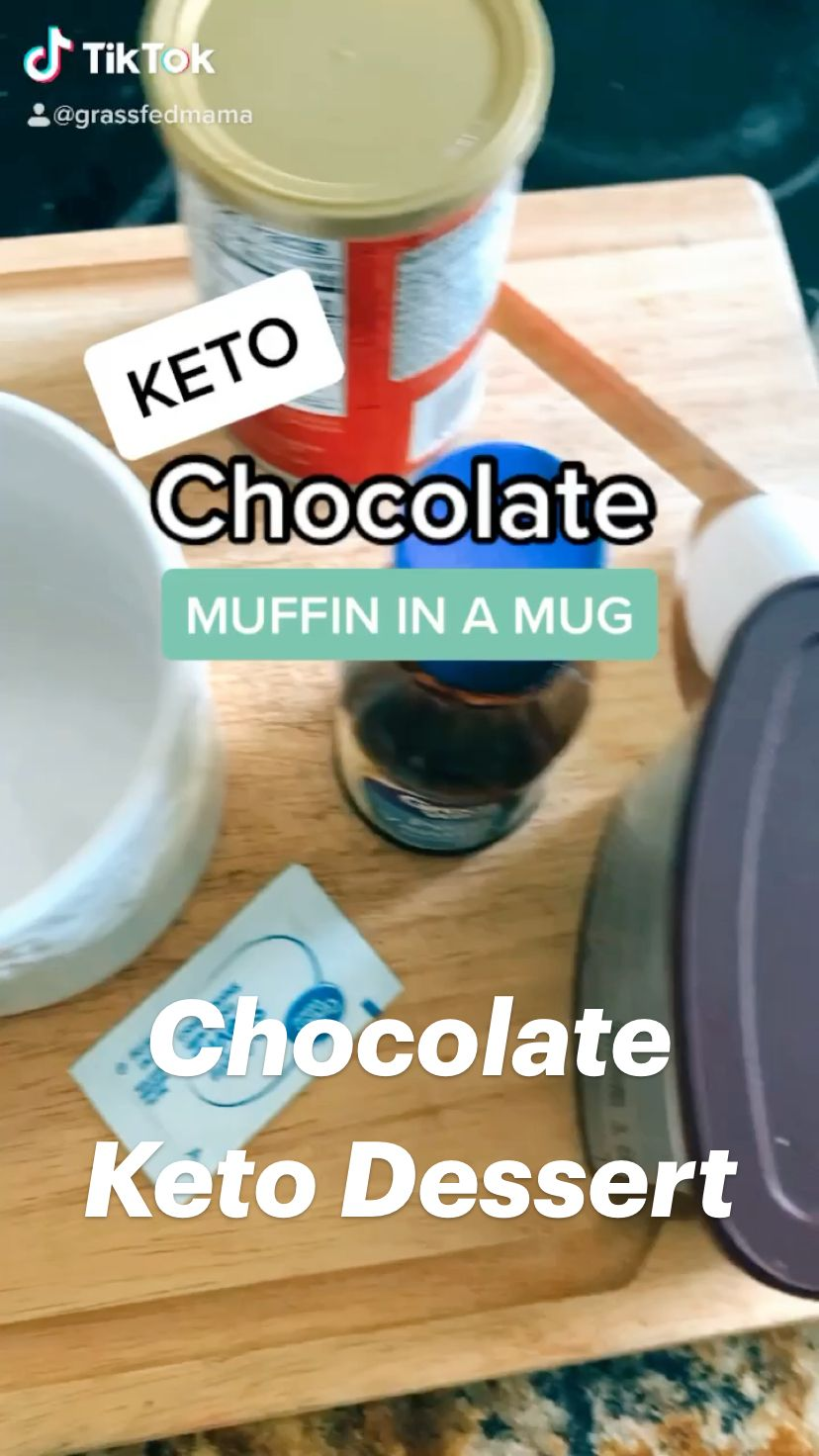 Chocolate Keto Dessert