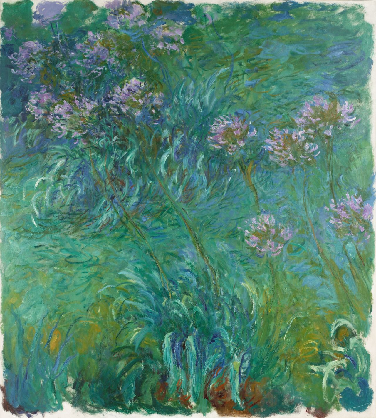 """""""Happy first day of spring! It's snowing in New York, but we're picturing Claude Monet's gardens at Giverny. The artist frequently painted outdoors, drawing endless inspiration from the plants,..."""