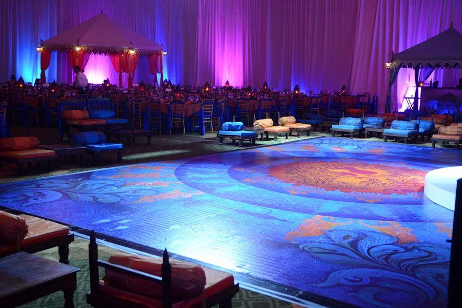 Raj Tents Honolulu Indian Wedding Dance Floor Lounge | Awesome ...