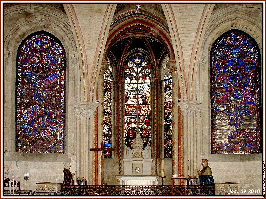 stained glass bourges cathedral of st etienne. Black Bedroom Furniture Sets. Home Design Ideas