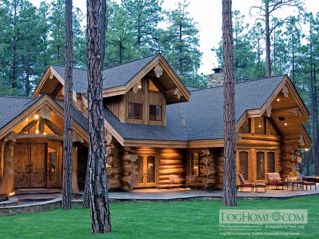 It is no secret that I wish to own an overnight camp one day soon. This log cabin home would be my family's perfect place to live during the summer months and on visits throughout the year!