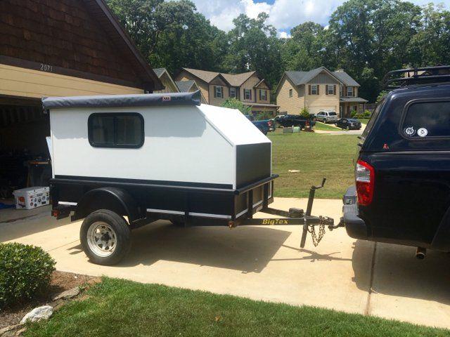 Utility Trailer Teardrop Off Roadish Camper Build Expedition