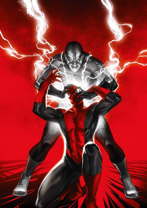 Amazing Spider-Man v1 #613 cover by Marko Djurdjević