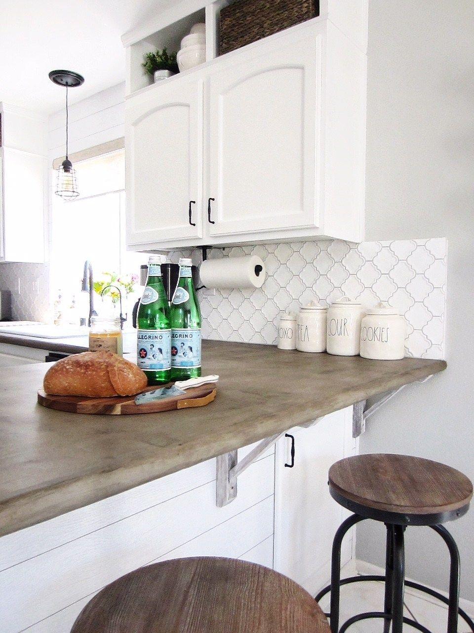 Diy concrete overlay countertops fiddle leaf interiors