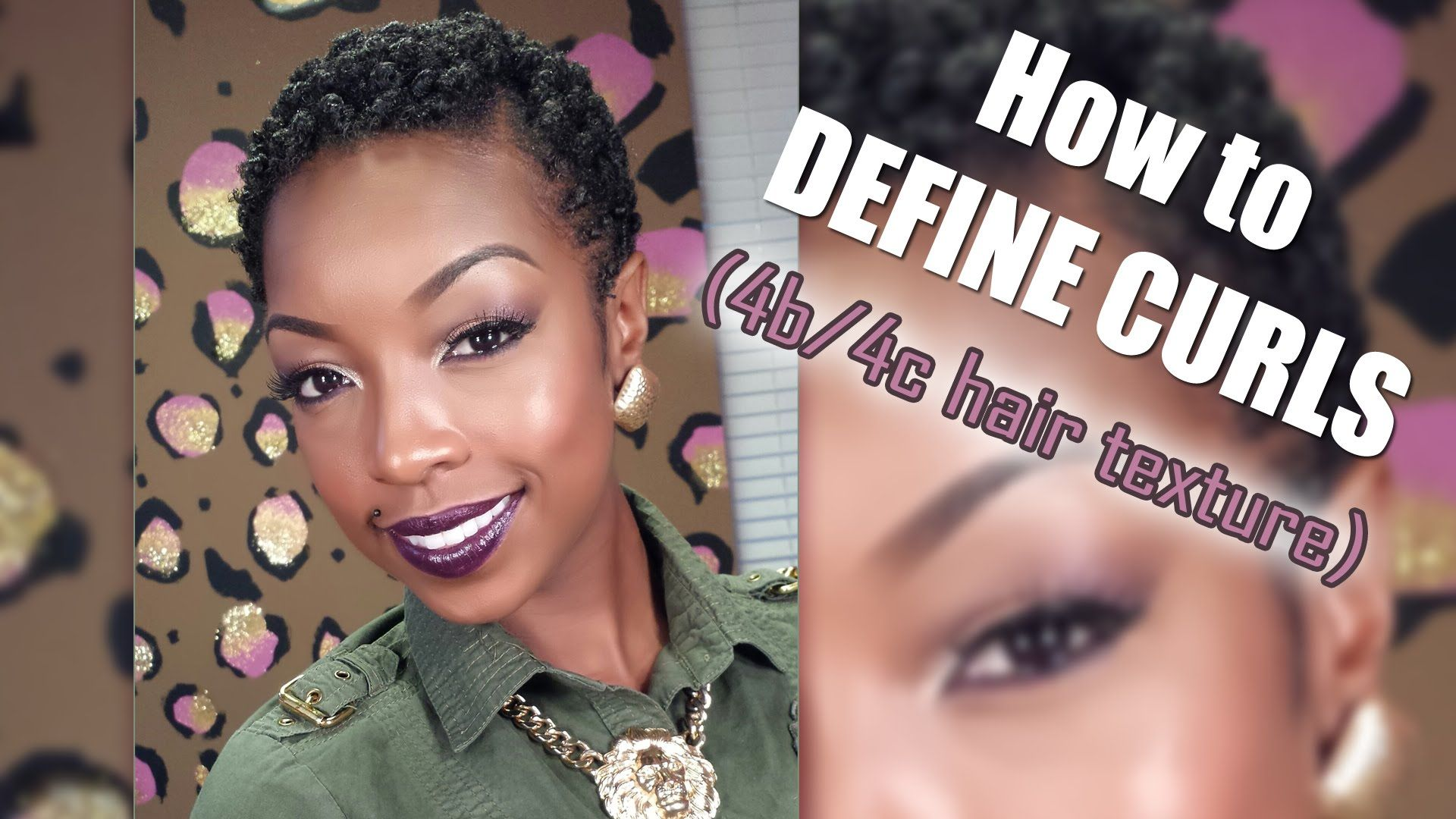 How to define curls 4b4c natural textures twa style