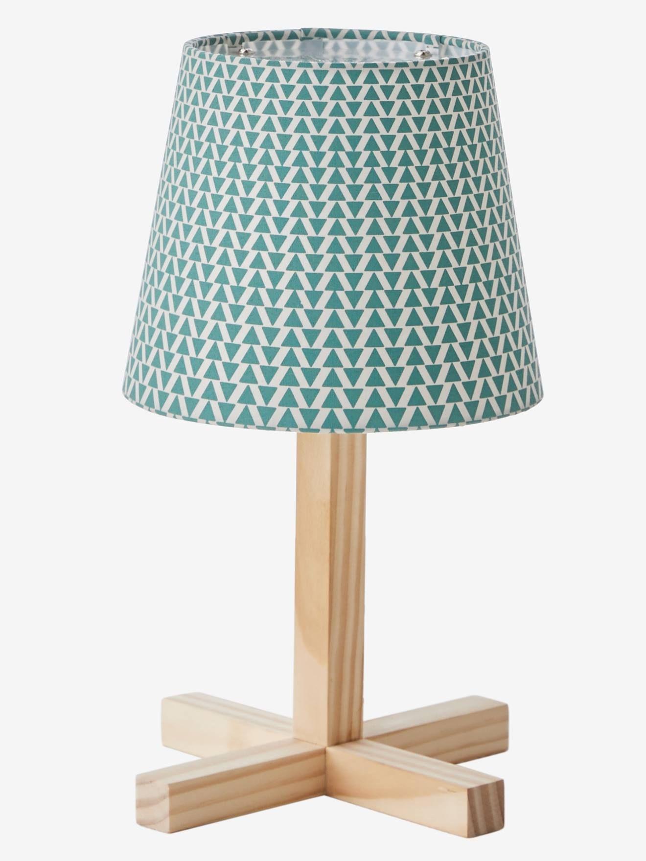 Lampe De Chevet Palma Vert Bois Vertbaudet Table Lamp Bedside
